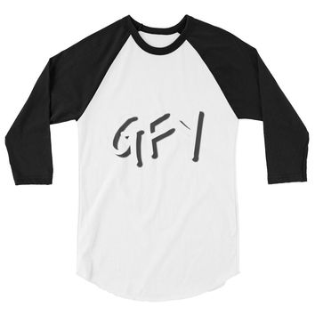 GFY MENS 3/4 sleeve raglan shirt