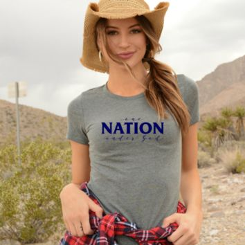 One Nation Under God! 4th of July tees