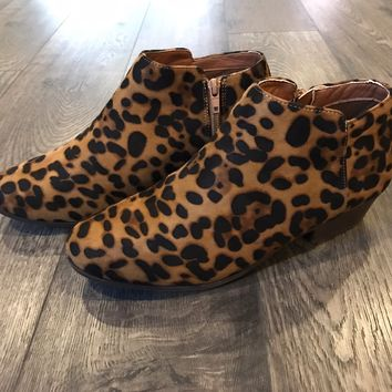 ab036fb1cbdd Best Leopard Booties Products on Wanelo