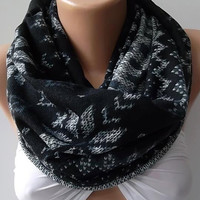 Super Elegant and classy ...Infinity Scarf Loop Scarf Circle Scarf  It made with good quality  fabric