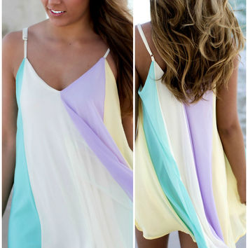 Tidal Wave Multi Color Dress