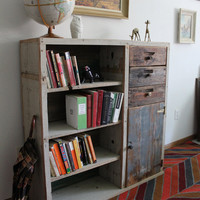 POLEMONIUM Reclaimed Wood Bookcase Dresser