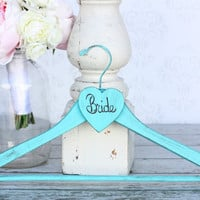 Personalized Wedding Dress Bridal Hanger Shabby Chic