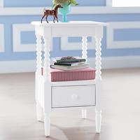 Jenny Lind Nightstand (White) in Jenny Lind Collection | The Land of Nod