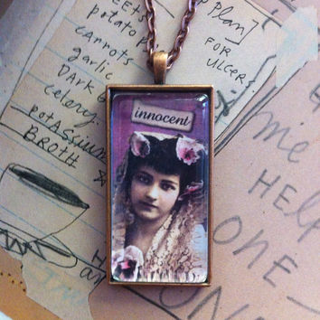Innocent Pendant Necklace On Etsy