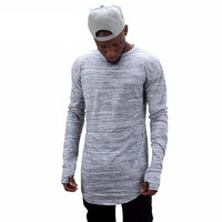 2017 Extended Urban Fit Long Sleeve Shirt For Men