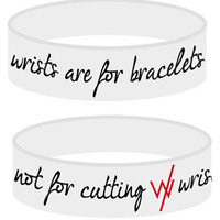 Wrists Are For Bracelets (White) - Sleeping With Sirens - Official Online Store on District LinesDistrict Lines