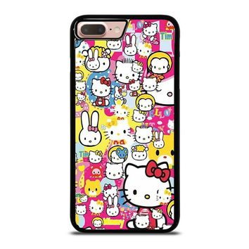 HELLO KITTY STICKER BOMB iPhone 8 Plus Case Cover