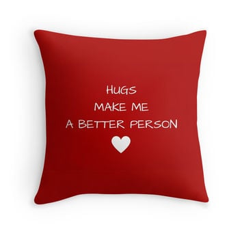 Hugs make me a better person by IdeasForArtists