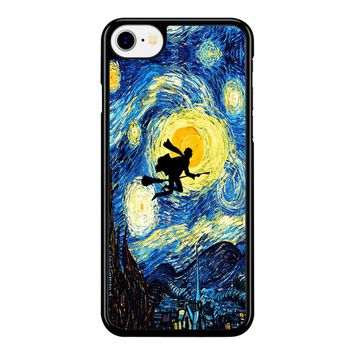 Starry Night Harry Potter 02 iPhone 8 Case
