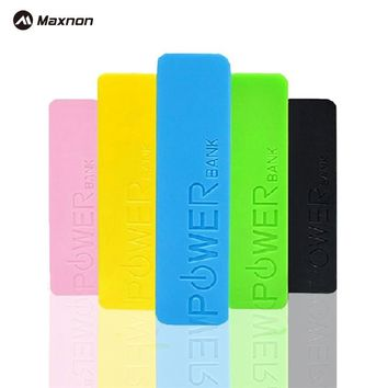 MAXNON Perfume 2000mah Power Bank USB External Backup Battery case for IPhone 4S 5 5S Charger Powerbank Power for Samsung S5 S3