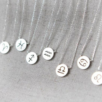 Zodiac Sign Necklaces