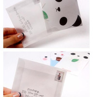 Korea stationery cute little animal writing paper Envelopes Sets Diary writing paper