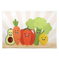 Delicious Food Cloth Placemat