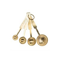 Measuring Spoons - Gold