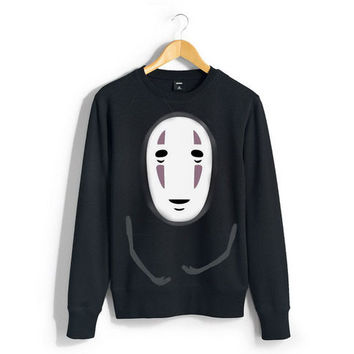 No Face Crewneck unisex