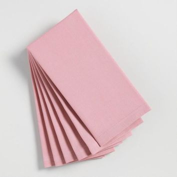 Dusty Mauve Buffet Napkins Set of 6