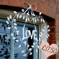 Love Heart Garland — Dear Blackbird Homewares