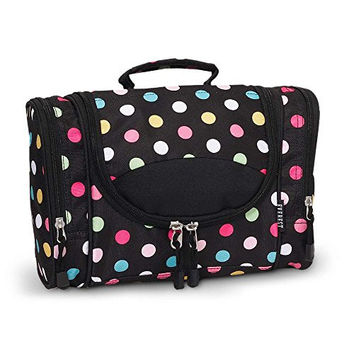 Polka Dot Cosmetic Bag for Women