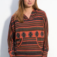 WallpapHer Tribal Print Hoodie (Juniors) | Nordstrom