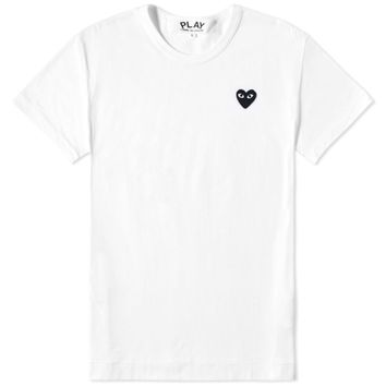 Comme des Garcons Play Women's Basic Logo Tee