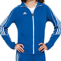 Adidas Women's Select Warm-Up Track Jacket for Cheerleading