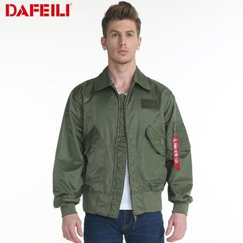 Trendy New CWU/45P Man Bomber varsity motorcycle military windbreaker waterproof army women letterman Pilot Flight streetwear Jacket AT_94_13