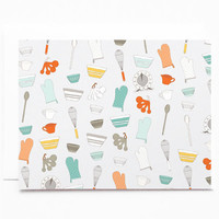 Baker's Notecard Set | Illustrated Notecards, Baker's Stationery : The Baker's Pattern