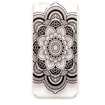 iPhone 6 Plus Case Cover Mandala Tribal Pattern iPhone 6 Plus Hard Case Geometric Henna Back Cover For iPhone 6 Plus Slim Design Case6