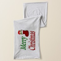 Merry Christmas Stocking 3D Scarves