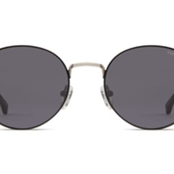 Komono - The Taylor Silver Black Sunglasses