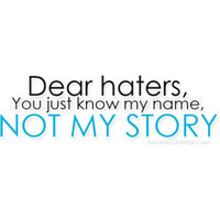 story about haters - Google Search