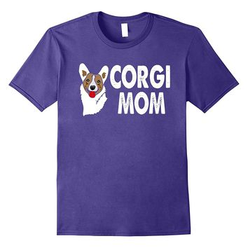 Corgi Mom Shirt with Corgi Graphic Corgi Mom Life T Shirt