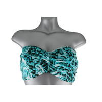 Sunsets Womens Printed Twist Swim Top Separates