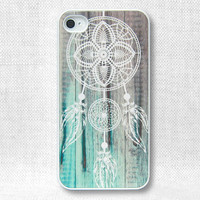 iPhone 4 Case, iPhone 4 Cases, iPhone 4S Case, iPhone 4 Cover - Dream Catcher Wood - 135