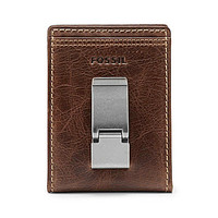 Fossil Bradley Leather Bifold Wallet - Brown