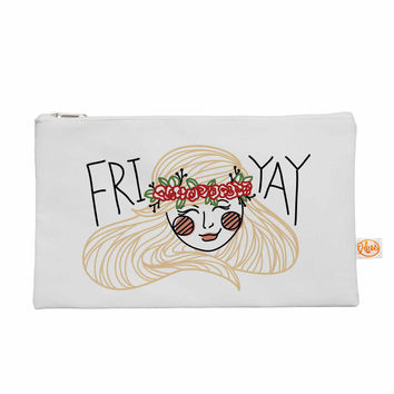 "Busy Bree ""Fri-Yay "" Yellow People Everything Bag"