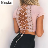 Pink Blouse Laced Design Top