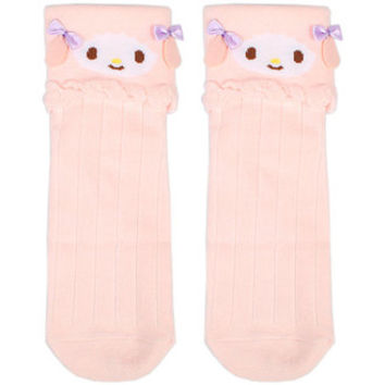 A my melody my sweet piano die cut character socks socks ☆ Sanrio character award series ★ black cat DM service is possible