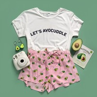 Lets Avocuddle PJ Set
