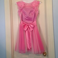 Pink backless SHERRI HILL dress! Prom/Homecoming