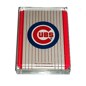 Chicago Cubs Acrylic Executive Desk Top Paperweight