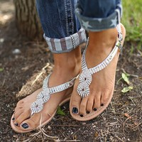 Sweet Shimmers Sandals