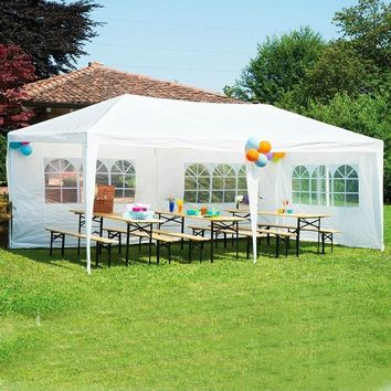 Outdoor Heavy Duty Party Wedding Patio Tent Canopy Gazebo Pavilion 10'x30' Size