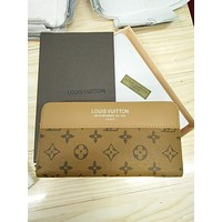 LV Zipper Women Leather Purse Wallet I
