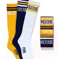 University of Michigan Sock Gift Set