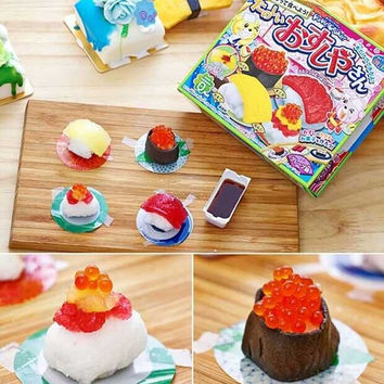 ,Japanese snacks,mini sushi, DIY handmade candy, Gift, sweets and candy, Food, Candy, Snack