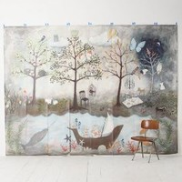 Rebecca Rebouche Enchanted Forest Mural in Multi Size: One Size Wall Decor