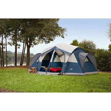 Camping Sporting Goods Fishing Lake Cabin Tent 14 x 14