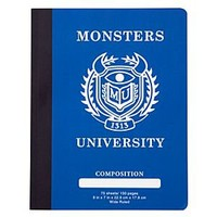 Monsters University Composition Book | Disney Store